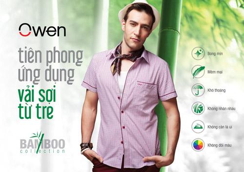 Owen tiên phong ứng dụng vải sợi từ tre - 1