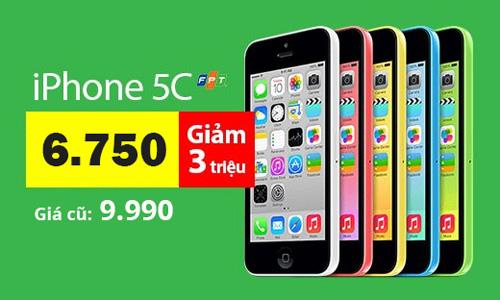 Đổ xô mua Galaxy Alpha, iPhone 5C FPT giảm giá 3 triệu đồng - 3