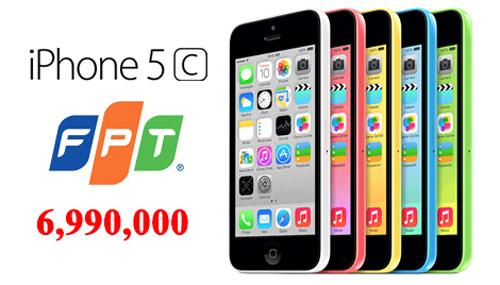 Iphone 5c 32GB chính hãng FPT bất ngờ giảm 2 triệu đồng sau tết - 1