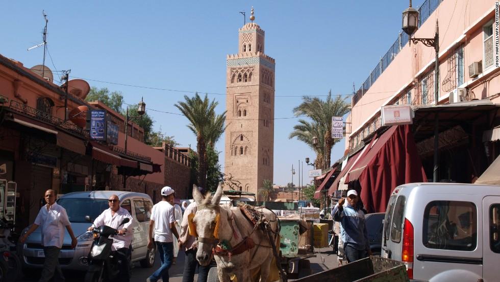 Thành phố Marrakech, Morocco tăng xếp bậc so với năm 2014 và xuất sắc giành vị trí số 1, trở thành điểm đến hấp dẫn nhất thế giới.