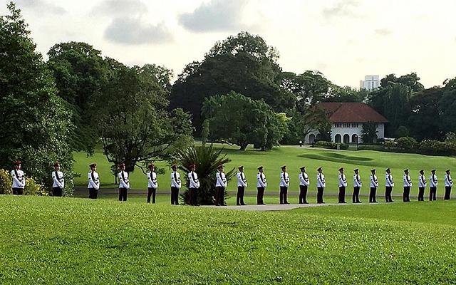 Dòng người Singapore tiễn đưa cựu Thủ tướng Lý Quang Diệu - 2