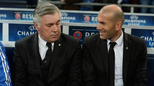 Ancelotti sắp bị Zidane cướp việc - 1