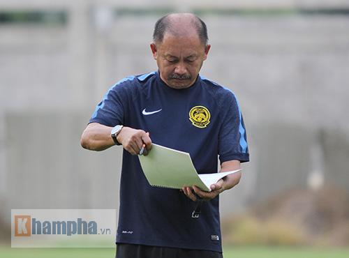 """U23 Malaysia mất """"trọng pháo"""" đấu U23 Việt Nam - 1"""