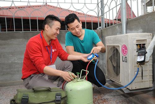 LG và chương trình bảo dưỡng điều hòa miễn phí năm 2015 - 2