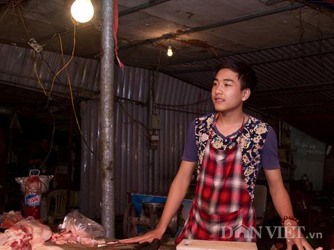 Chàng trai bán thịt lợn có gương mặt đẹp như tài tử - 4