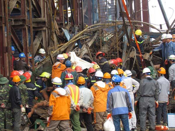 Ít nhất 13 người đã tử vong trong vụ sập giàn giáo Formosa - 2