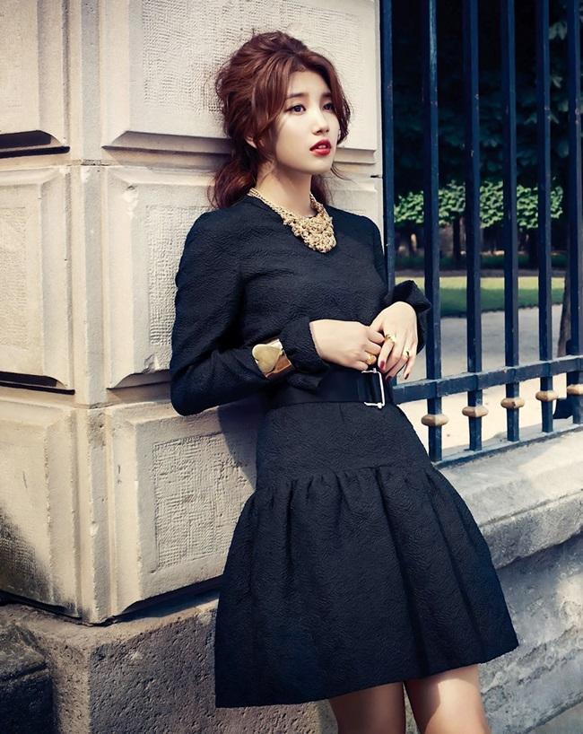 Cô gái 21 tuổi mới đây trở thành tâm điểm dư luận Hàn khi công khai hẹn hò tài tử Lee Min Ho.
