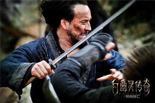 Lưu Diệc Phi khiến tài tử Nicolas Cage thán phục - 5