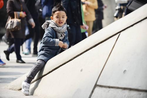 Choáng vì độ sành điệu của nhóc tì tại Seoul FW - 5