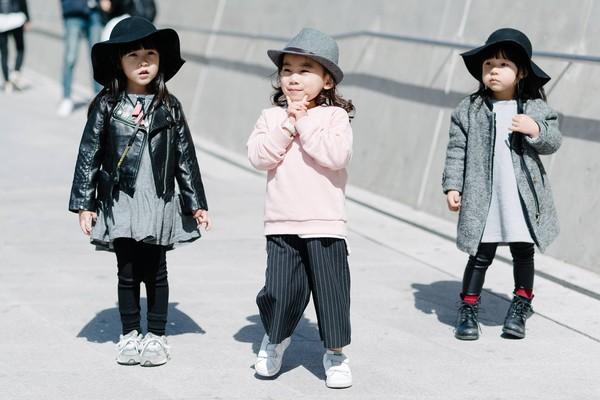 Choáng vì độ sành điệu của nhóc tì tại Seoul FW - 4