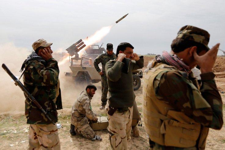 Mỹ ra tay gỡ thế bí cho lính Iraq tấn công IS - 2