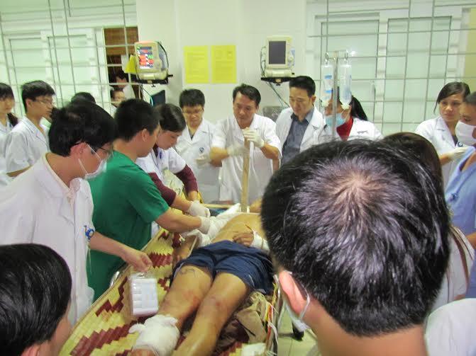 Vụ sập giàn giáo tại Formosa qua lời kể nạn nhân - 1