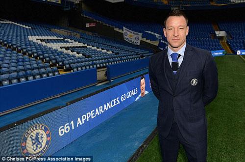 Chelsea giữ chân Terry: Bài học từ Lampard và Drogba - 3