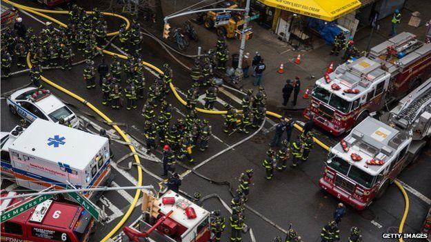Mỹ: Nổ khí ga, 3 chung cư đổ sập - 3