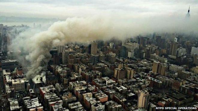 Mỹ: Nổ khí ga, 3 chung cư đổ sập - 4