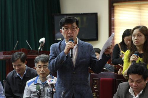 Đại diện Formosa và Samsung cúi đầu xin lỗi nạn nhân vụ sập giáo - 3