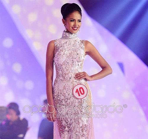 """Vẻ gợi cảm của """"nàng osin"""" thành hoa hậu Philippines - 1"""