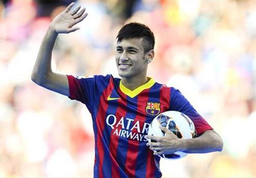 Neymar: Chàng Beckham của Barca - 1