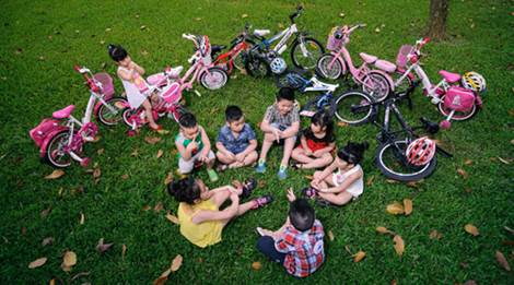 Mách cha mẹ chọn xe đạp chuẩn cho con - 3