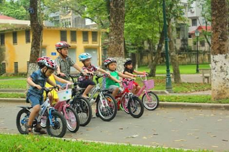 Xe đạp - người bạn đồng hành cùng tuổi thơ của bé - 13