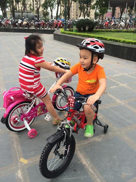 Xe đạp - người bạn đồng hành cùng tuổi thơ của bé - 3