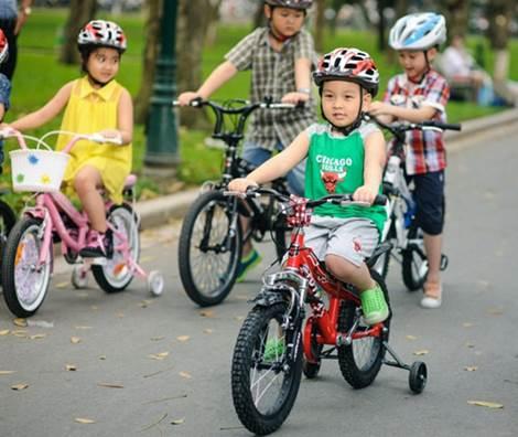 Xe đạp - người bạn đồng hành cùng tuổi thơ của bé - 4
