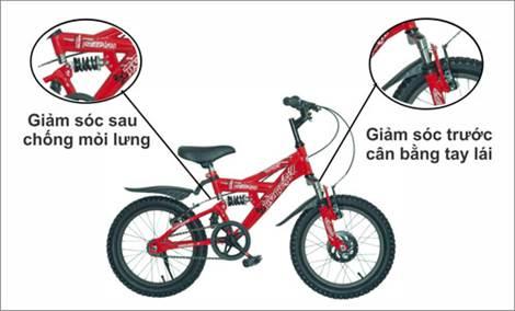 Xe đạp - người bạn đồng hành cùng tuổi thơ của bé - 8