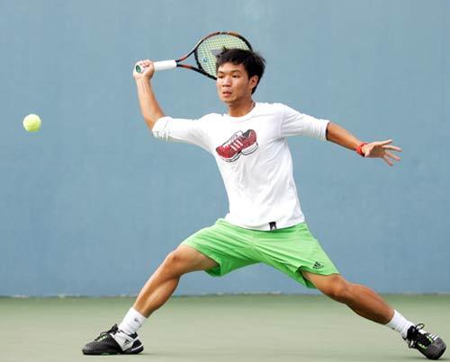 Hoàng Nam tỏa sáng, ĐTVN thăng hạng Davis Cup - 1