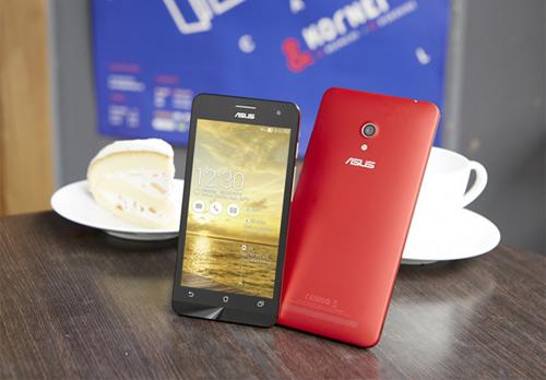 Ra mắt ZenFone 5 phiên bản chip 1.2GHz - 1