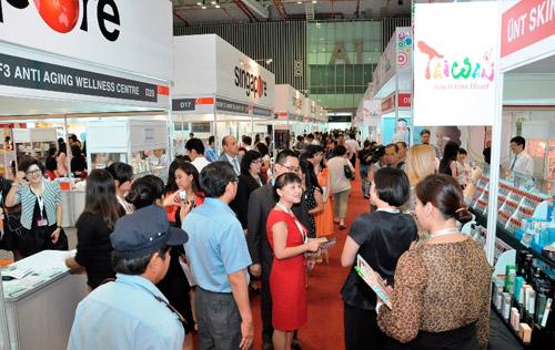 Sôi động với triển lãm Cosmobeaute Vietnam 2015 - 5