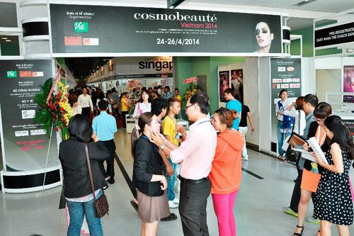 Sôi động với triển lãm Cosmobeaute Vietnam 2015 - 2