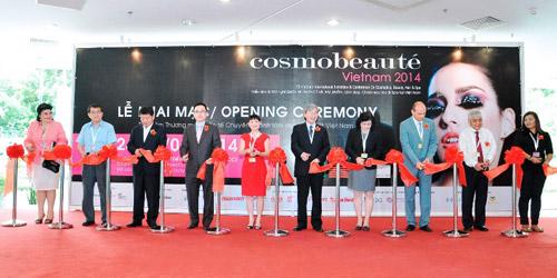 Sôi động với triển lãm Cosmobeaute Vietnam 2015 - 1