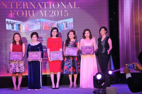 Annie đồng hành cùng Diễn đàn Nữ lãnh đạo quốc tế 2015 - 1