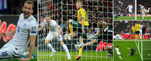 Tuyển Anh đại thắng: Harry Kane thách đấu châu Âu - 1