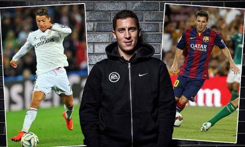 Hazard thừa nhận không thể bằng Messi, Ronaldo - 1