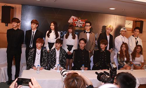 EXO nói tiếng Việt, Sistar hát Hello Việt Nam - 1