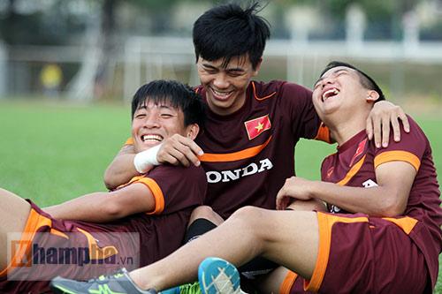 """U23 VN: Chưa bao giờ ông Miura lại """"tươi"""" đến thế - 12"""