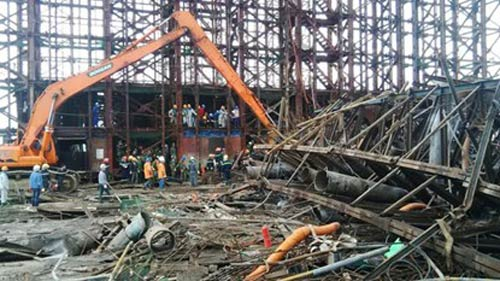 Hà Tĩnh khó đủ lực để điều tra vụ sập giàn giáo Formosa - 1