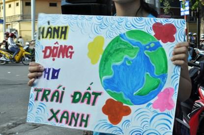 Chùm ảnh: Người Sài Gòn tắt xe máy bảo vệ môi trường - 6