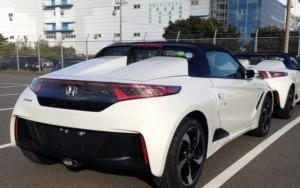 Bắt quả tang Honda S660 2015 sắp lên kệ