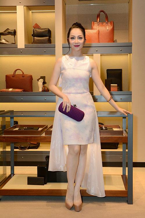 Tóc Tiên nổi bật với váy xuyên thấu, tóc bạch kim - 4