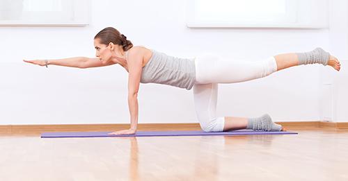 10 bài tập yoga giúp vòng 3 tròn chắc - 7