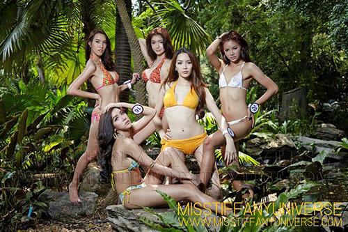 Hé lộ ảnh bikini của dàn thí sinh Hoa hậu chuyển giới - 2