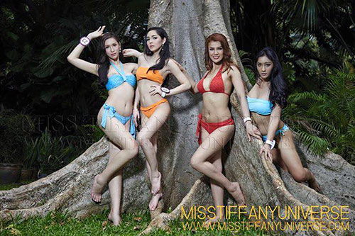 Hé lộ ảnh bikini của dàn thí sinh Hoa hậu chuyển giới - 5