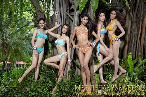 Hé lộ ảnh bikini của dàn thí sinh Hoa hậu chuyển giới - 6