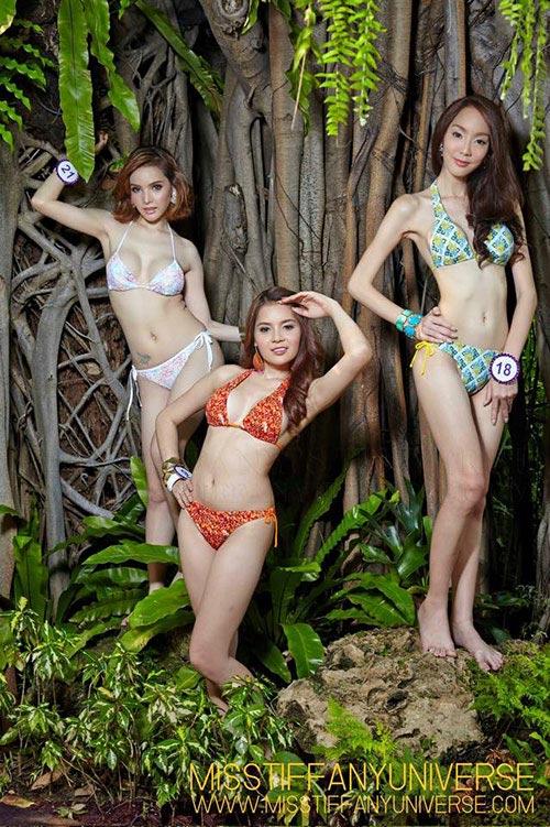 Hé lộ ảnh bikini của dàn thí sinh Hoa hậu chuyển giới - 4