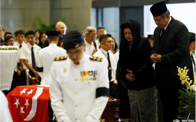 Các lãnh đạo thế giới tới Singapore, tiễn biệt ông Lý Quang Diệu - 1