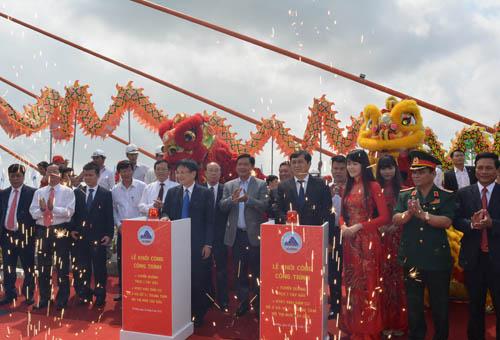 Chính thức thông xe cầu vượt 3 tầng đầu tiên ở Việt Nam - 1