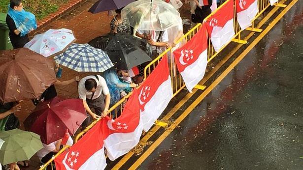 Singapore mưa trắng trời ngày đưa tiễn cố Thủ tướng Lý Quang Diệu - 7