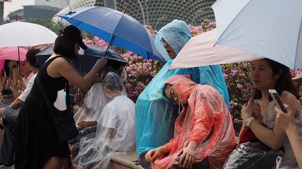 Singapore mưa trắng trời ngày đưa tiễn cố Thủ tướng Lý Quang Diệu - 1